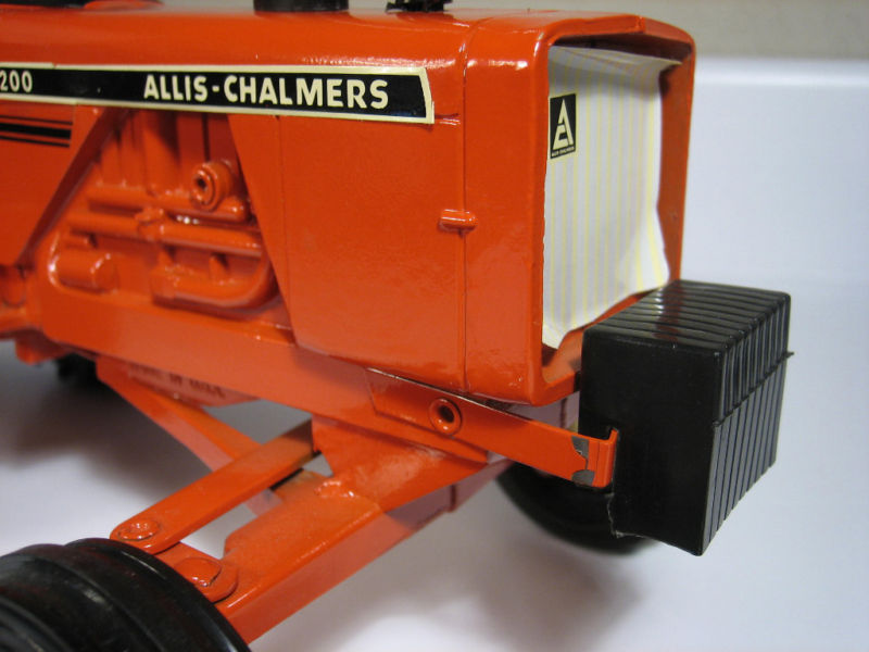 Allis Chalmers Air Cleaner : Allis chalmers with air cleaner farmmodeldatabase