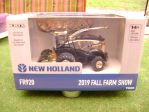 New Holland FR920 forage harvester with Kemper mais and grass head