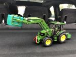 John Deere 5720 with front loader and front weight
