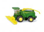 John Deere 8500i harvester with maize header