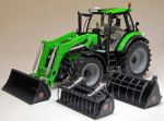 Deutz-Fahr Agrotron 6190 TTV with Stoll ProfiLine FZ 50 front loader (2013 - …)