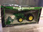 John Deere 6400 with front loader