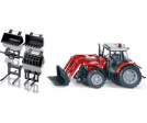 Massey Ferguson 5455 with MF894 front loader and accessories