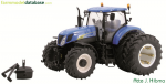 New Holland T7060 AC on duals