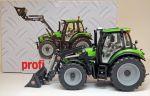 Deutz-Fahr Agrotron 6180 TTV with Stoll ProfiLine FZ 30 front loader
