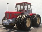Schlüter Profi Trac 2500 on duals rear and front