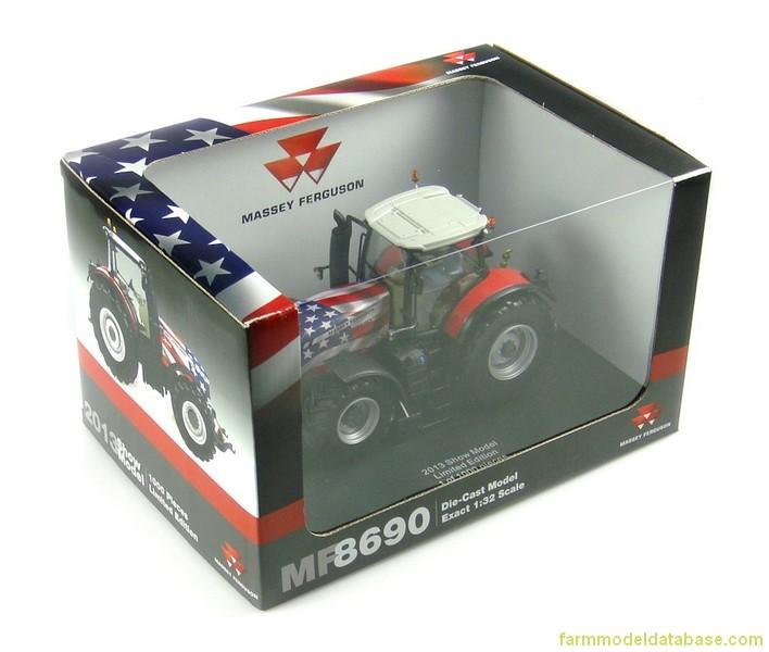Massey Ferguson Limited Edition 8690 ~ 2013 Show Edition UH4204