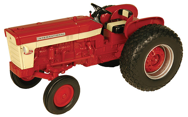 Ih 460 Utility Tractor : International utility tractor with rear turf tires