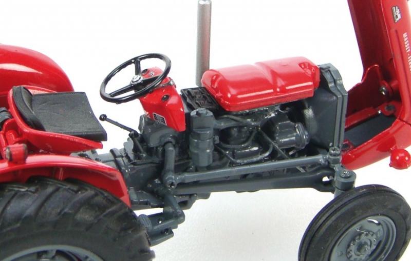 Massey Ferguson 35X (1963) - farmmodeldatabase com