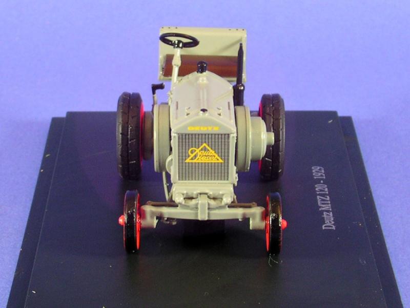 deutz MTZ 120 1929 n°64 tractor tracteurs et monde agricole hachette 1//43